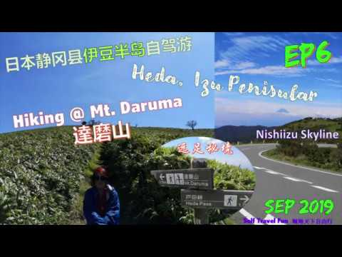 Self Travel Fun 翱翔天下自由行 - 伊豆西北-達磨山秘境爬山记 ! Hiking @ Mt. Daruma, Heda Izu