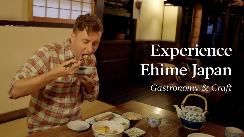【4K】Experience Ehime Japan - Gastronomy & Craft