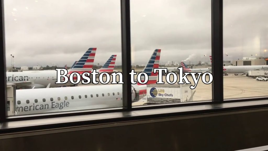 Boston to tokyo w/ Japan airlines (security, meals, etc)