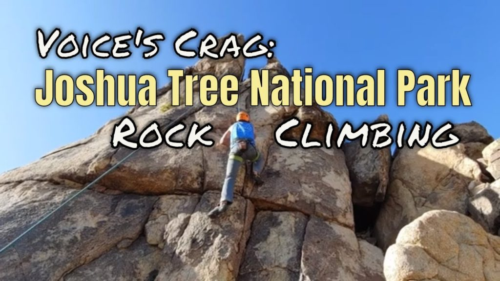 Rock Climbing with Uprising Adventure Guides - Joshua Tree - California (2019)