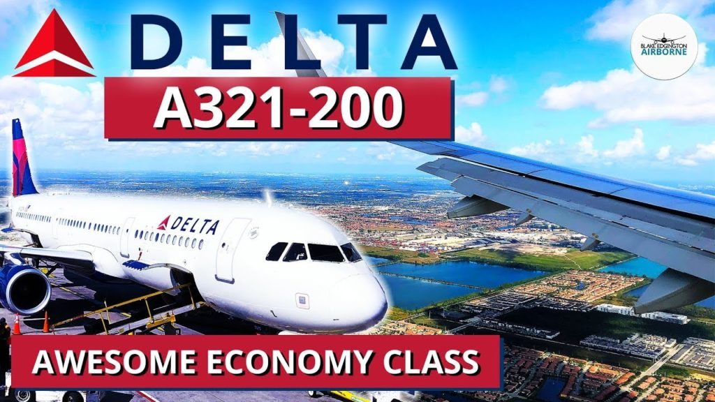 DELTA AIRLINES review: Fantastic Airbus A321 domestic economy class