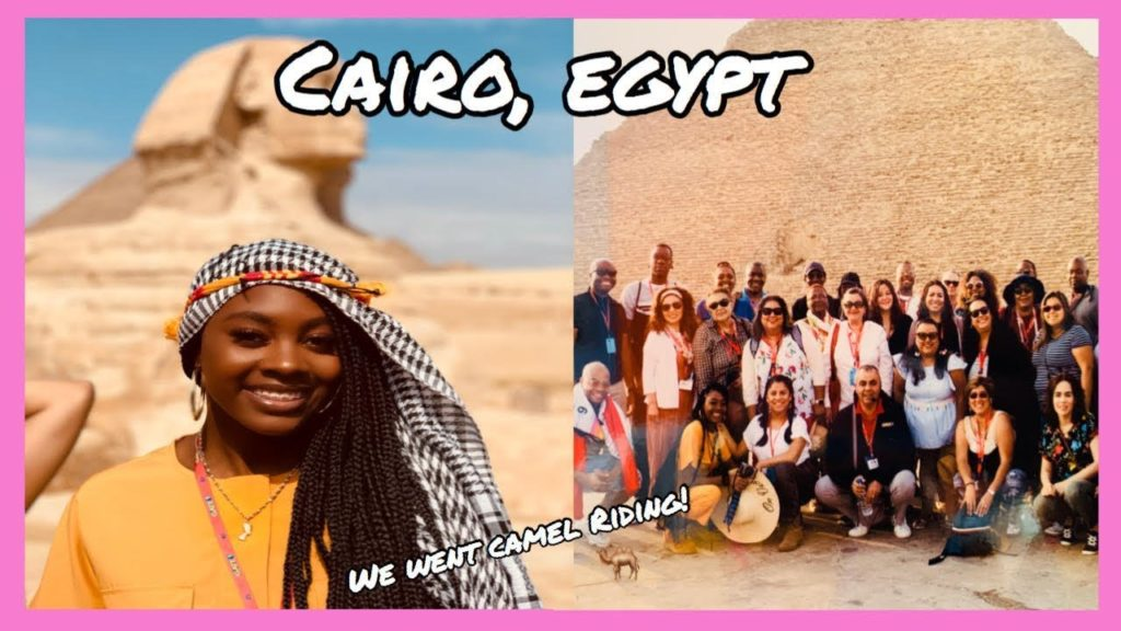 VISITING THE PYRAMIDS!!! | EGYPT TRAVEL VLOG PART 2