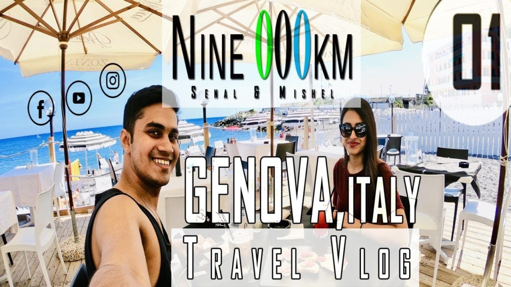 Travel Vlog with Girlfriend - Italy Edition (Genoa) Day 01