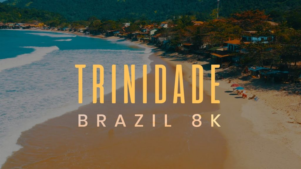BEST BEACHES in BRAZIL. Tourist Vacation Paradise. Trinity Beach, Paraty. DJI Mavic 2 Drone Footage.