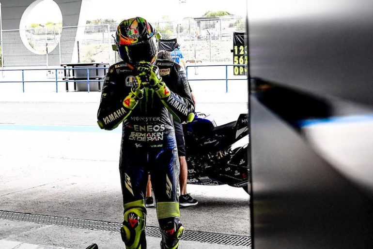 "@valeyellow46 : ""It's a shame about the weather today. It was an important day b..."