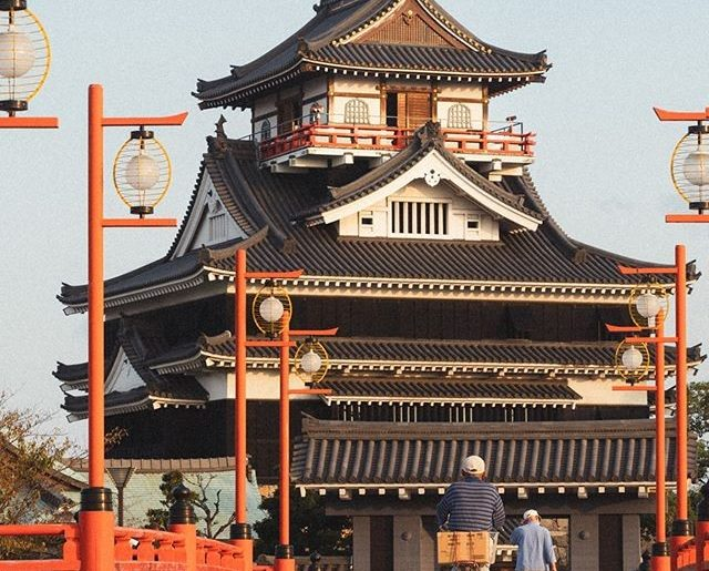 How cool is it that you can be walking around a city in Japan, and suddenly come...