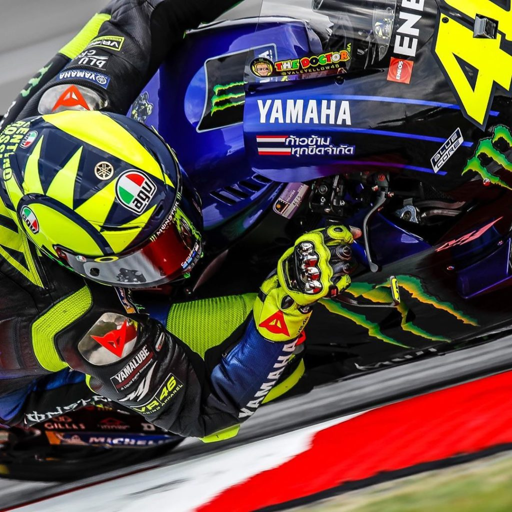 "@valeyellow46 : ""I had a good start, but then on the first straight some riders ..."