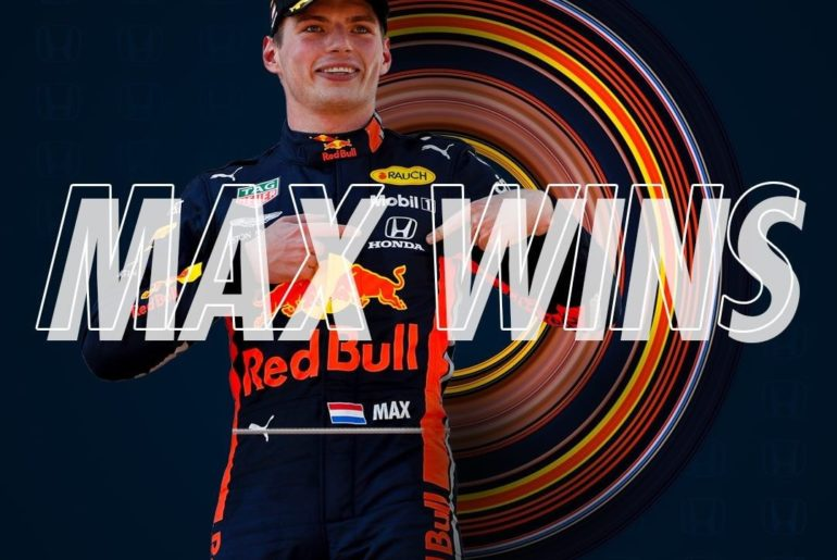 It's a @HondaRacingF1 1-2 finish at the Brazilian GP! @MaxVerstappen1 takes firs...