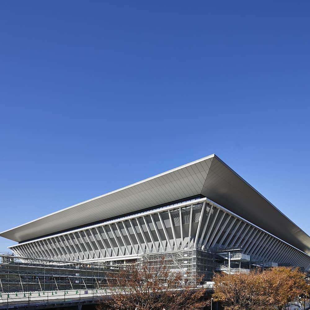 Get your first look inside the Tokyo Aquatics Centre!  With a capacity of 15,00...
