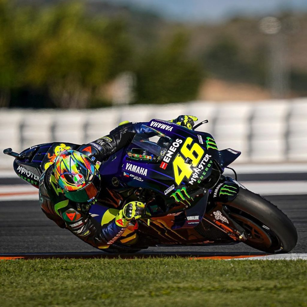 "@valeyellow46 : ""It was a positive test, I'm quite happy because we worked well...."