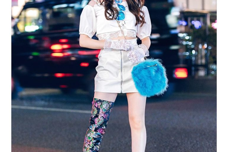 Japanese idol and fashion shop staffer Misuru (@meguharajuku) - from the group S...