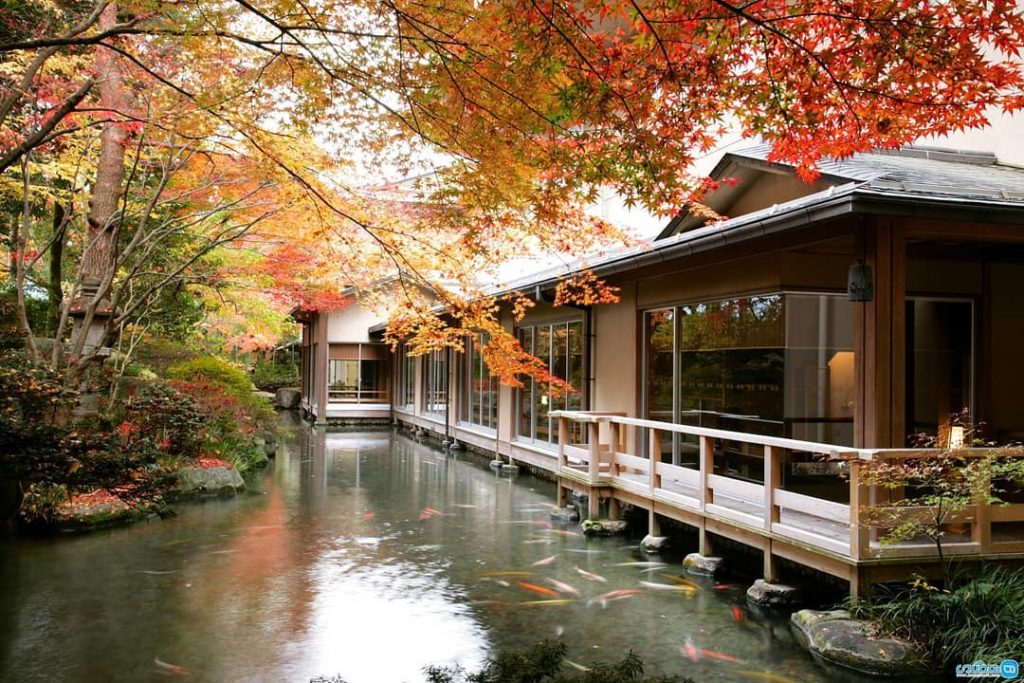Set between the picturesque Hida River and Japanese Alps, is the beautiful Suime...