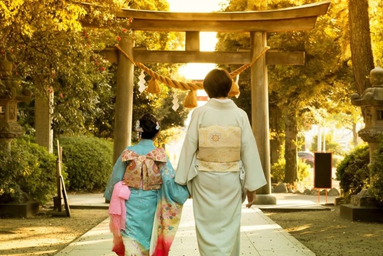 Shichi-Go-San is a traditional rite of passage in Japan for 3 and 7 year-old gir...