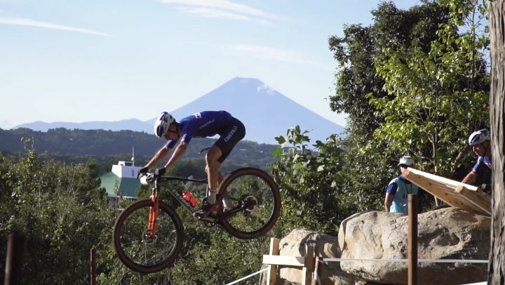 Can you imagine watching the world's best Mountain cyclists, with Mt Fuji in the...