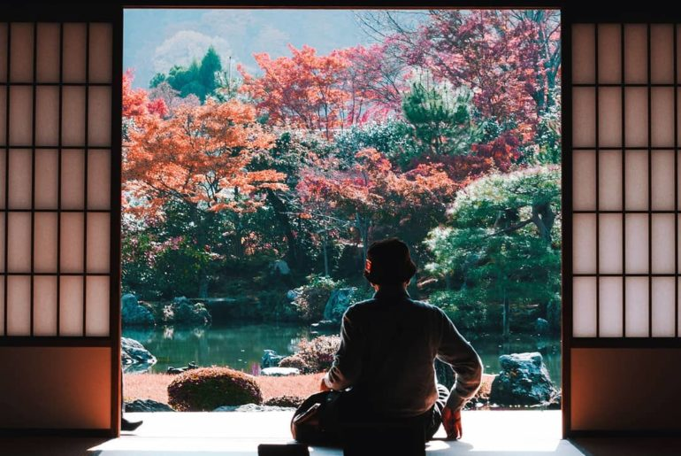 Viewing the colours of the changing leaves is the ultimate autumn pastime in Jap...