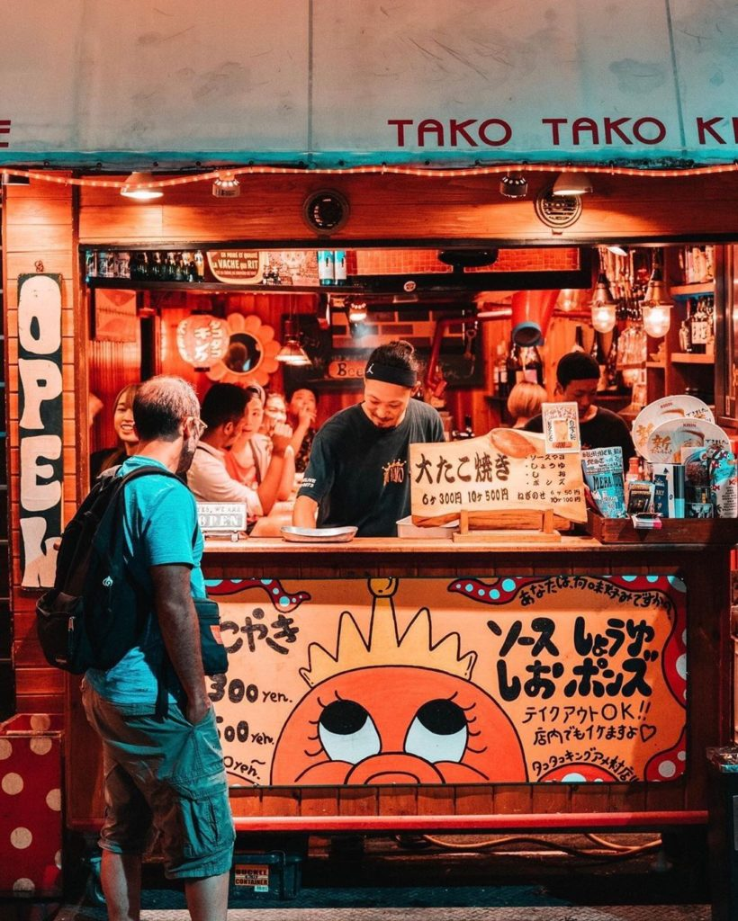 Anyone else a takoyaki fan?  : @wauters_nicolas -----⁣⠀ #Osaka .⁣⠀ .⁣⠀ .⁣⠀ .⁣ #...