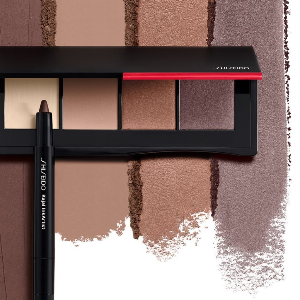 Cooler temps call for a layered lid look. Create stay-put smoky eyes using a com...