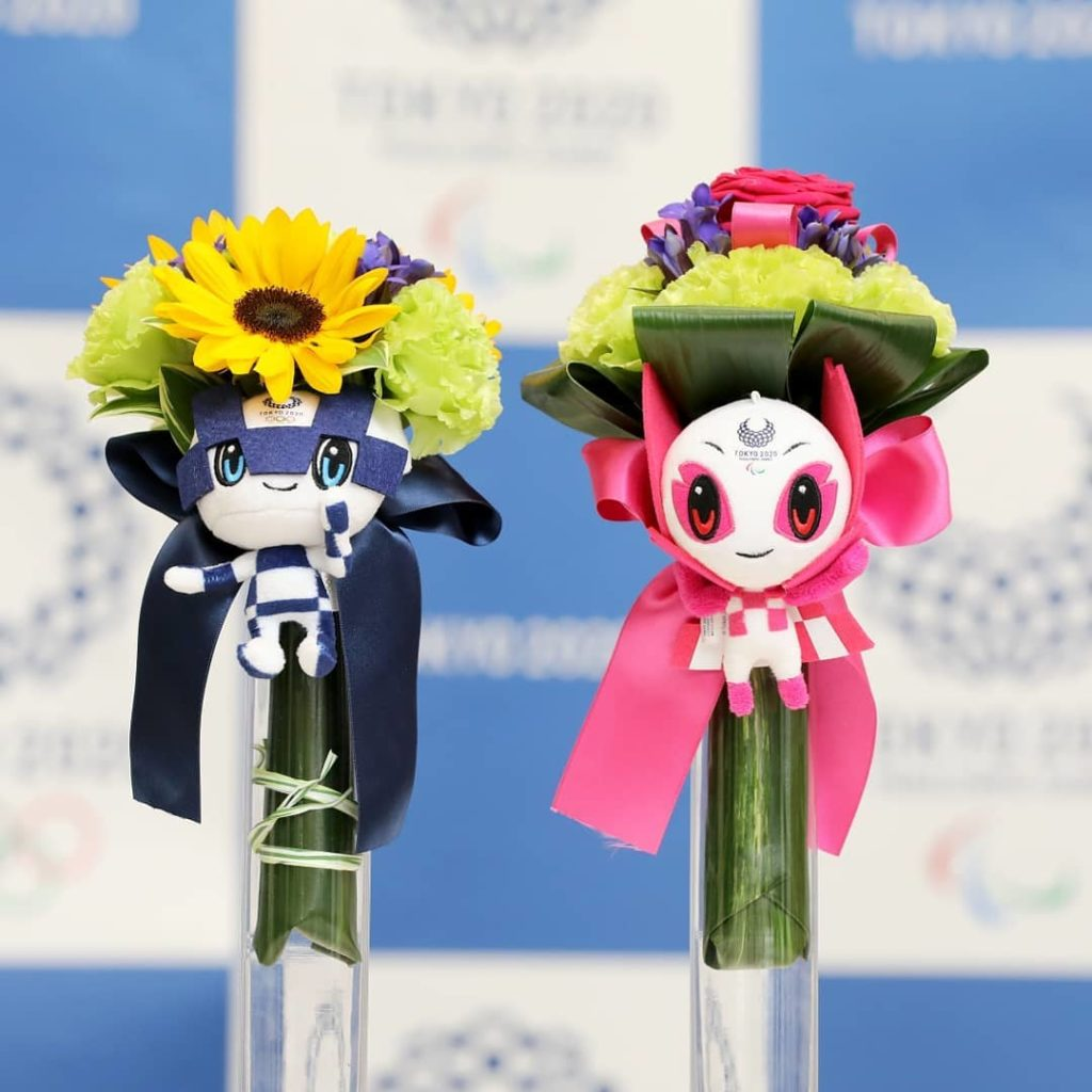 Get the first look at your #Tokyo2020 Medalist Bouquets!  Bright, vibrant, and ...