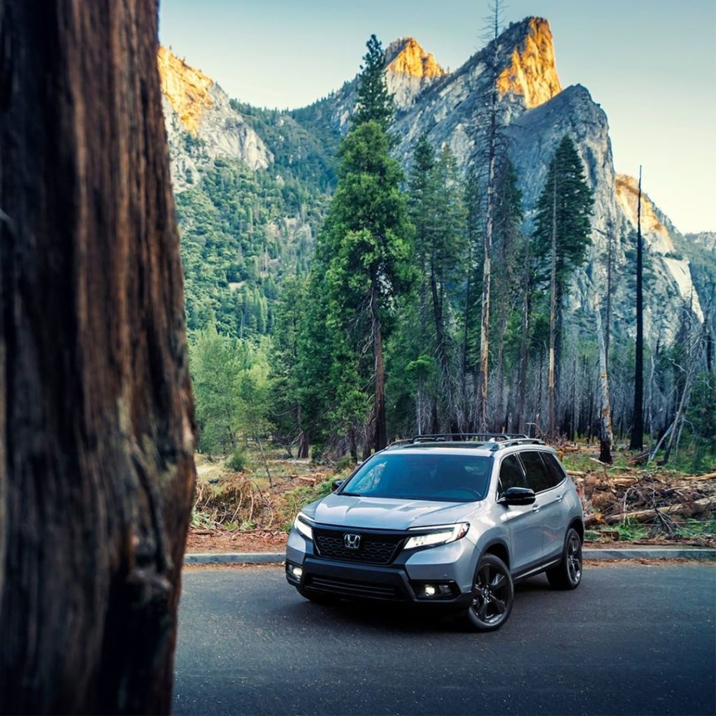 When you're built to explore, staying in isn't an option. #HondaPassport...