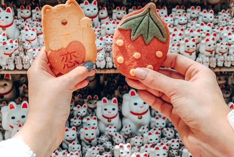 Kawaii snacks and cats. Is there a better combination?!  This kawaii scene was c...