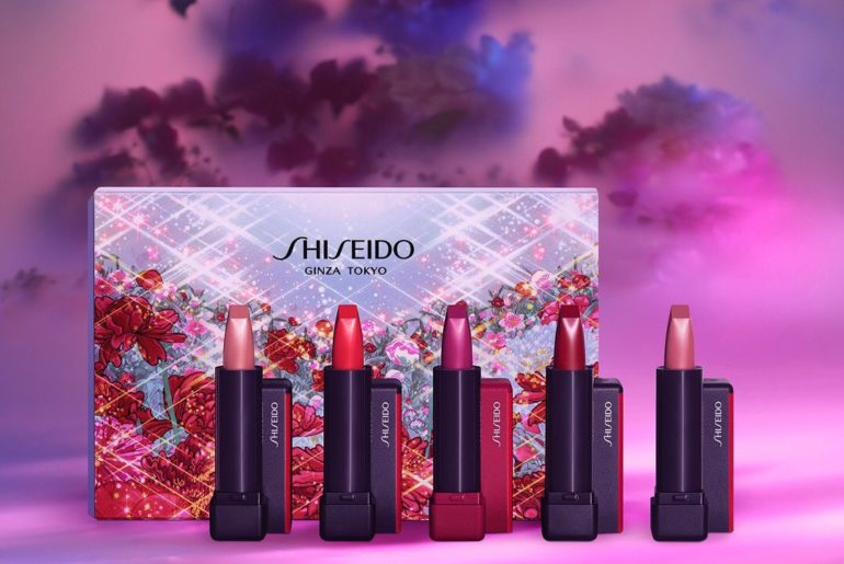 Find your perfect Modern Matte Powder lip shade with #ShiseidoHoliday limited-ed...