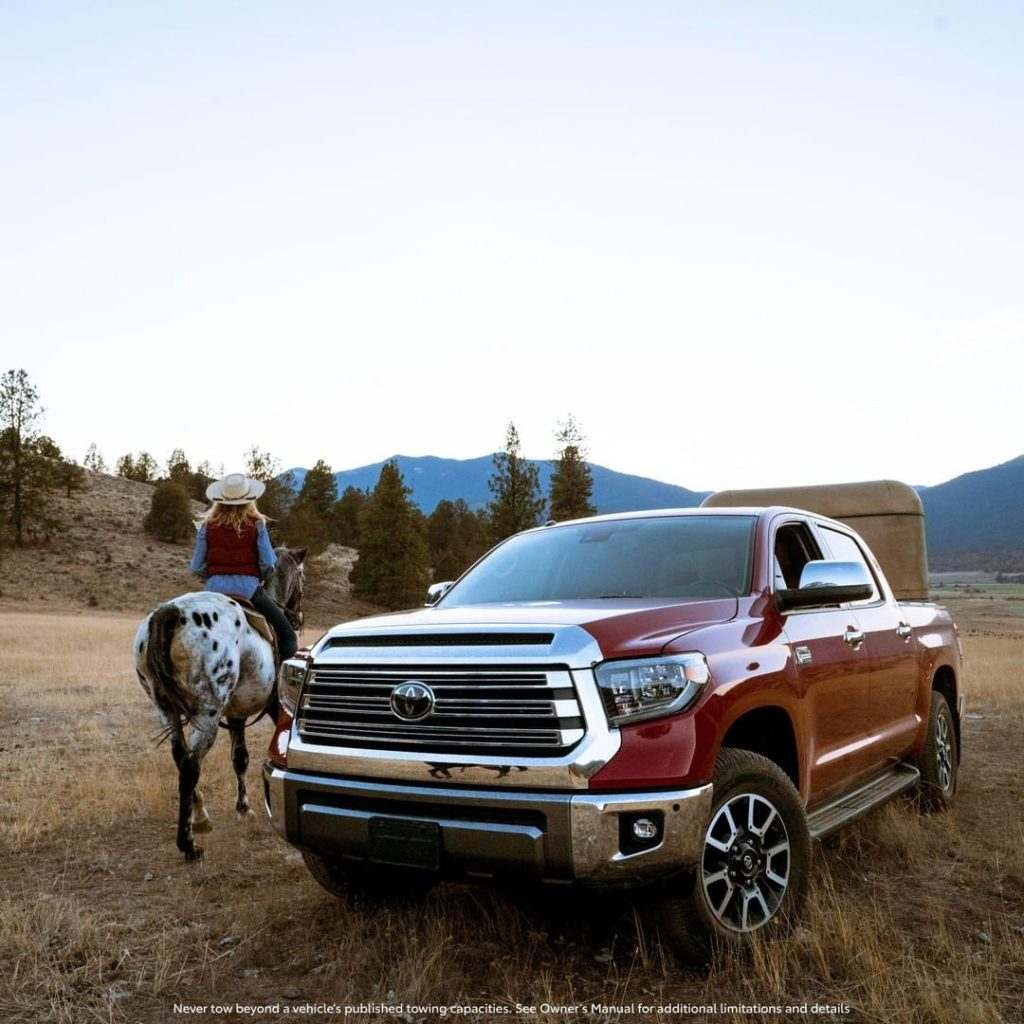 You can only fit so much horsepower into one photo. #Tundra #LetsGoPlaces...