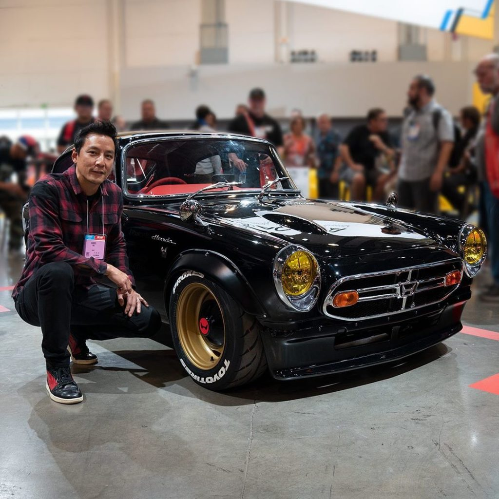 See the '68 Honda S800 @thatdanielwu built and revealed at our #SEMA2019 booth. ...