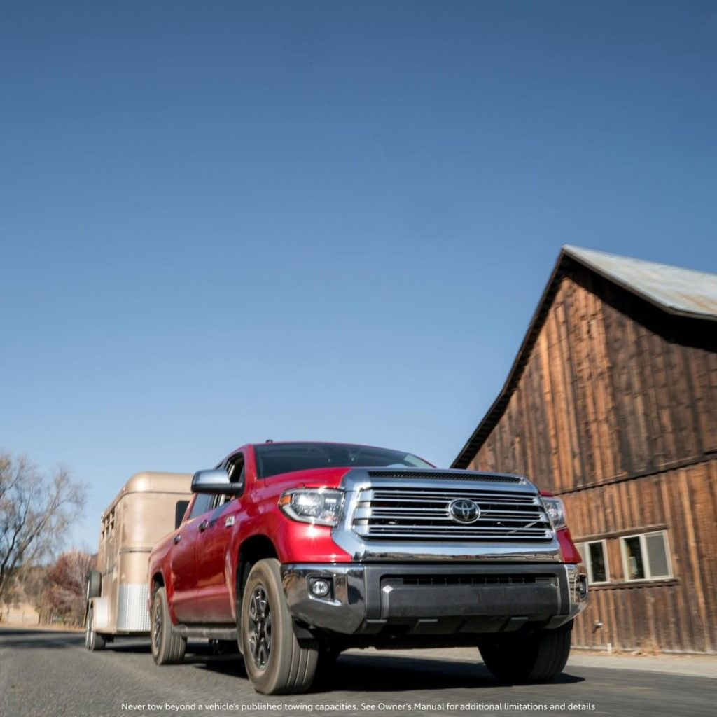 There for you all through fall, no matter the haul. #Tundra #LetsGoPlaces...