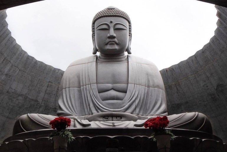 This Buddha statue in Hokkaido is a relative newbie - it was only opened to the ...