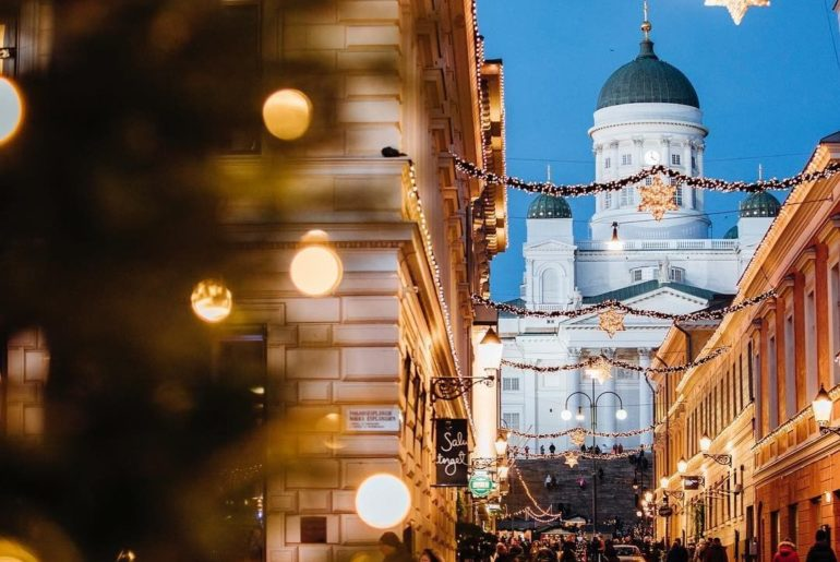 . The city of Helsinki is covered in Christmas! #WorldlyNovember The Christmas M...