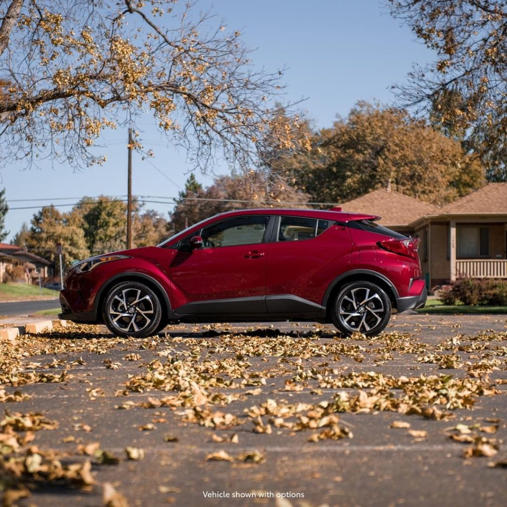When leaves are falling, adventure is calling. #ToyotaCHR #LetsGoPlaces...