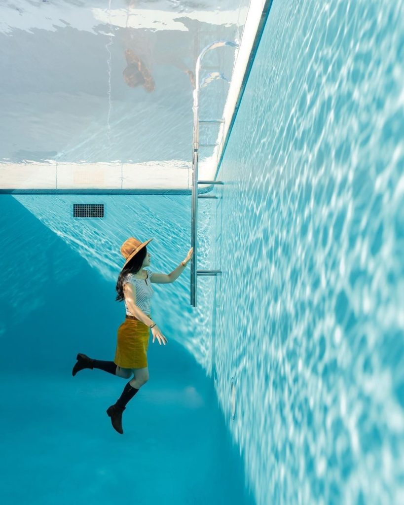 Sink or swim?  We're big fans of the 21st Century Museum of Contemporary Art in ...