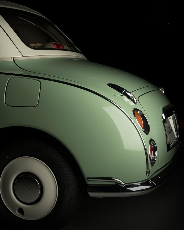 Rooted in boldness, the #Nissan #Figaro was exhibited at the #1989 #TokyoMotorSh...