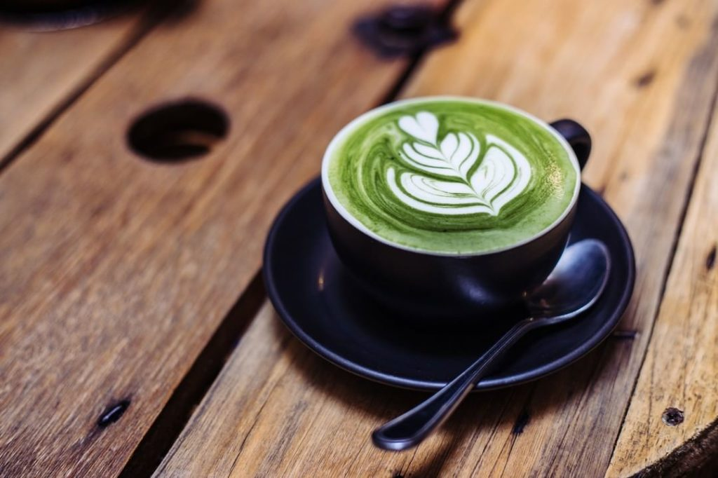 Matcha flavored snacks and sweets are becoming more and more popular worldwide b...