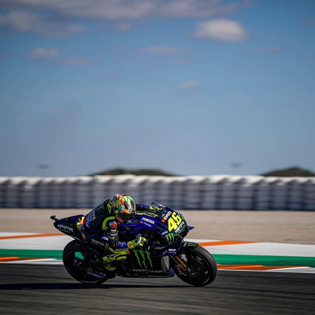 @valeyellow46 wrapped up the Valencia Test in 9th in the Day 2 standings and in ...