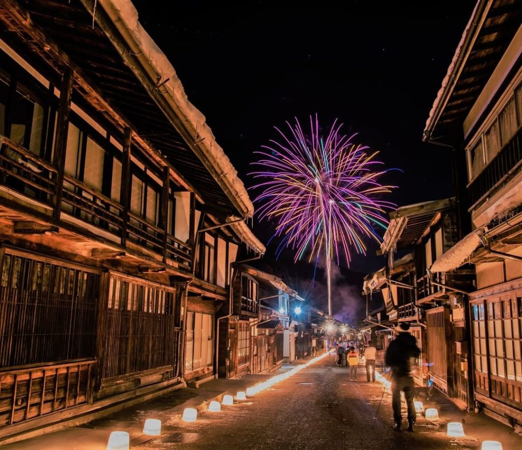 On February 3rd, the beautiful post town of Naraijuku (in Nagano Prefecture) hol...