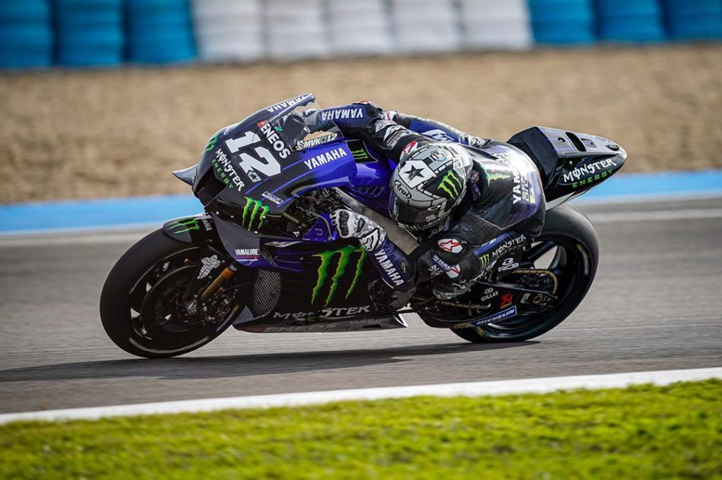 @maverick12official was back at it again at the Jerez Test, taking 1st place wit...
