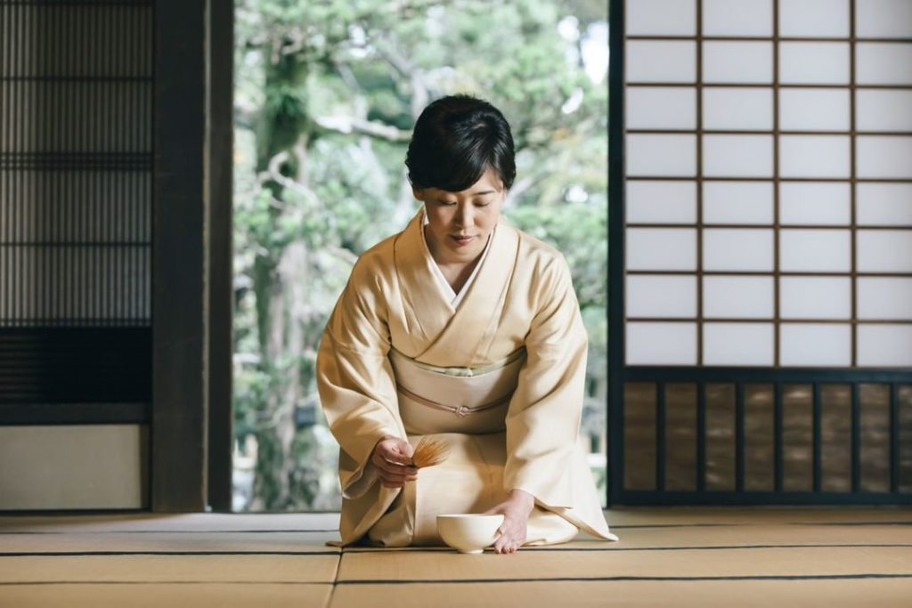 "Since the 16th century the tea ceremony (literally the ""Way of Tea"") has been  a..."