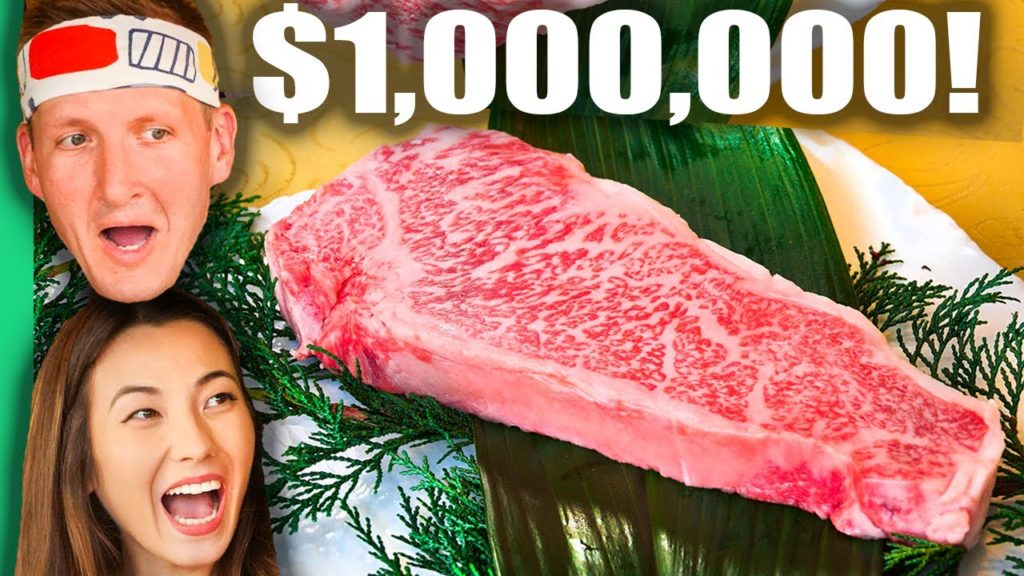 $1,000,000 Japanese Kobe Beef Factory!!! MOST EXPENSIVE Beef in the World!!!