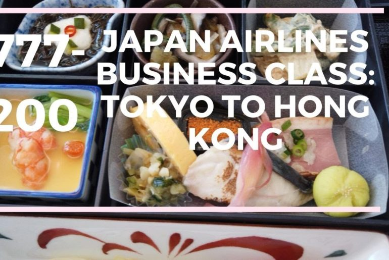 Japan Airlines Boeing 777-200 Business Class: Tokyo to Hong Kong (JL 29)