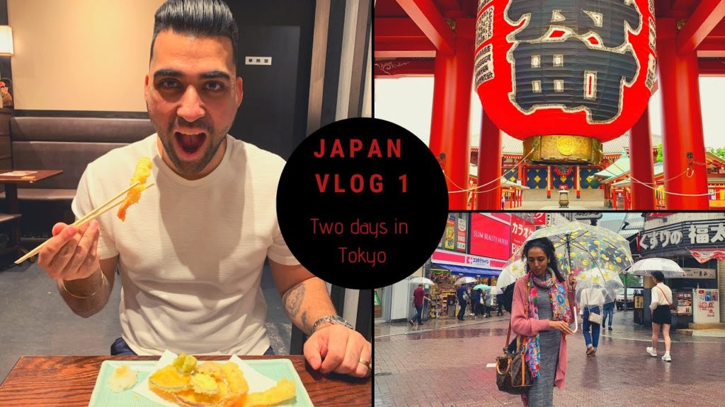 Japan Travel Vlog1| Things to do in Tokyo in 2-3 days.