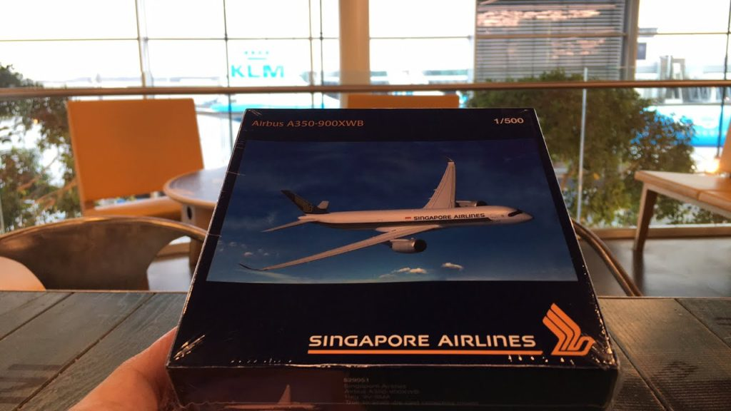 UNBOXING | Singapore Airlines A350-900 XWB
