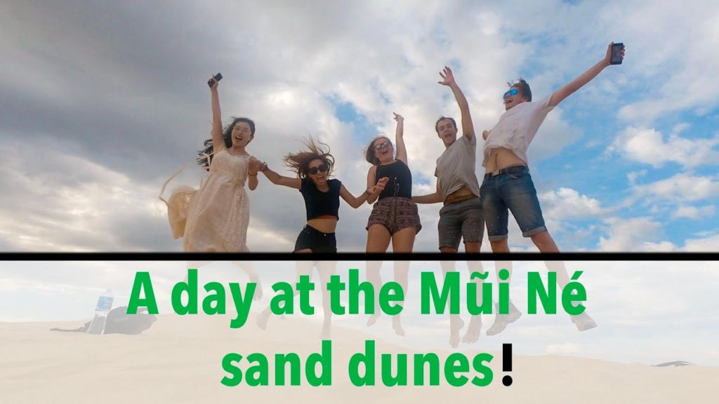 A day at the Mũi Né  sand dunes!