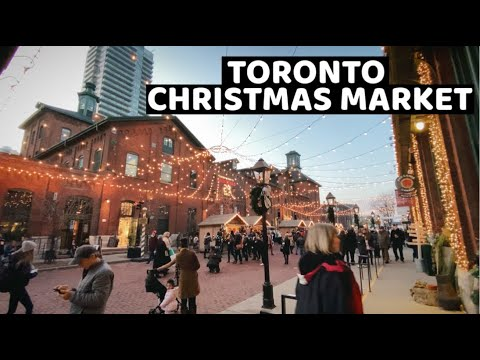 Toronto Christmas Market Distillery District 2019
