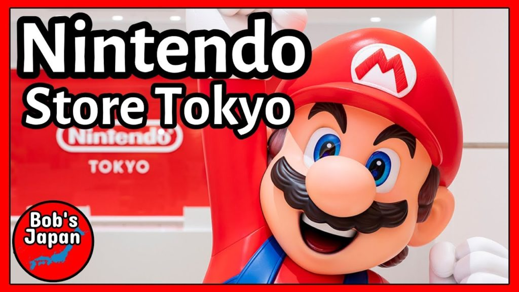 I went to the Nintendo Store in Tokyo!!
