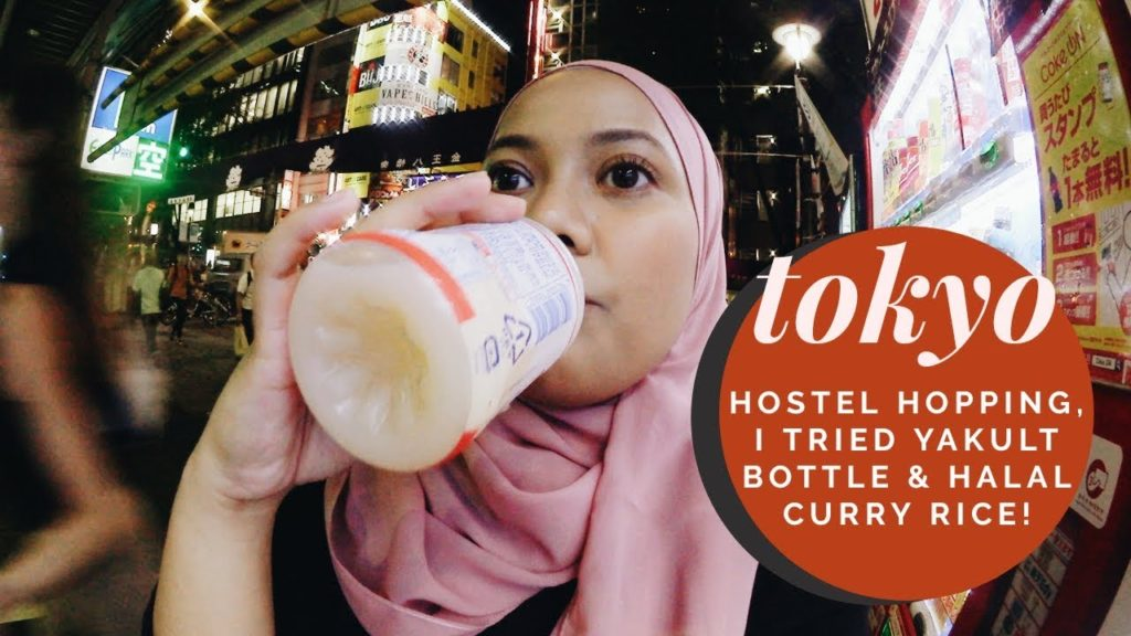 I tried Yakult from VENDING MACHINE! Is WISE OWL HOSTELS good?