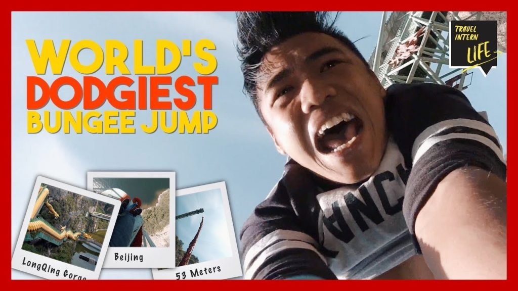 The DODGIEST Bungee Jump In The World!!! — Beijing, China | The Travel Intern