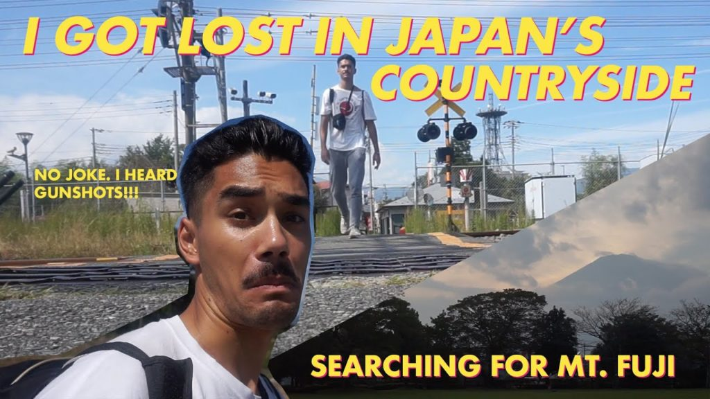 Lost In Japan, IS IT SAFE TO WALK ALONE IN JAPAN!? Mt. Fuji Travel Vlog + How I Use My 7 Day JR PASS