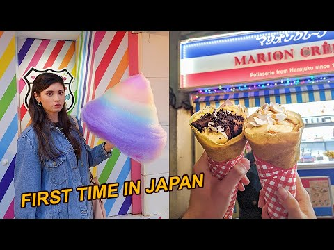 my first time in JAPAN