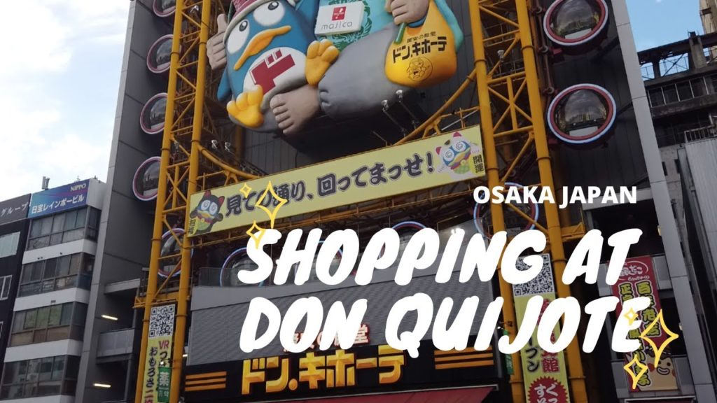 Don Quijote Dotonbori  | Osaka Japan | Walk with me tour